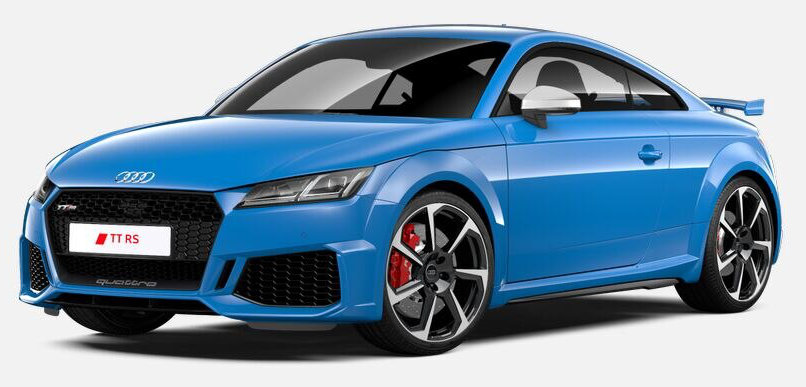 Hire the Audi TT RS from Avis