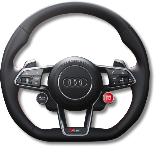The Audi TT RS Steering Wheel
