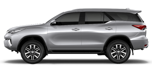 Toyota Fortuner long term rental
