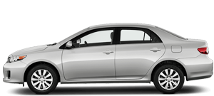 Monthly sedan car hire
