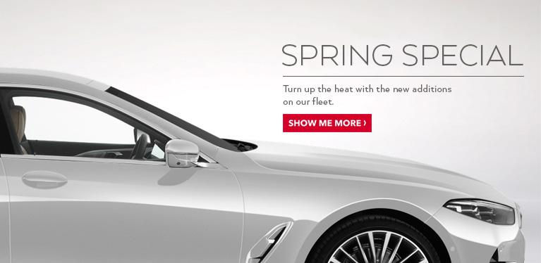 Avis Luxury Cars Spring Special