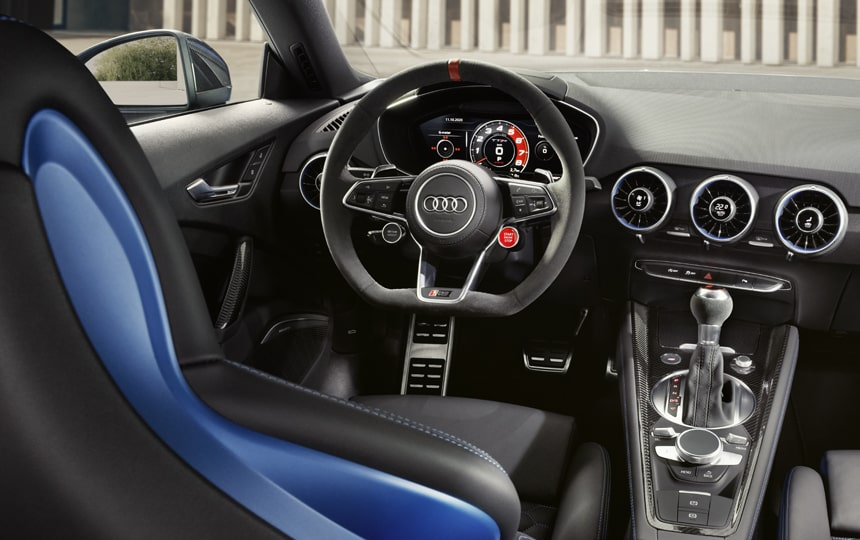 The Audi TT RS Interior